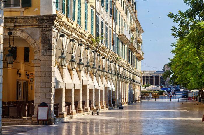 Liston | Apartments Achillion Corfu