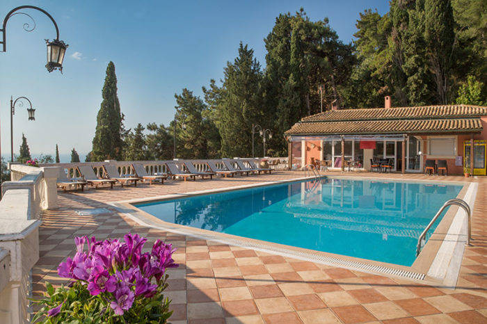 Swimming Pool | Apartments Achillion Corfu